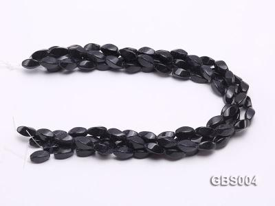 wholesale 8x16mm irregular Blue Sandstone strings GBS004 Image 3