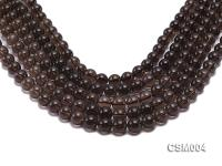 Wholesale 10mm Round Smoky Quartz Beads String CSM004