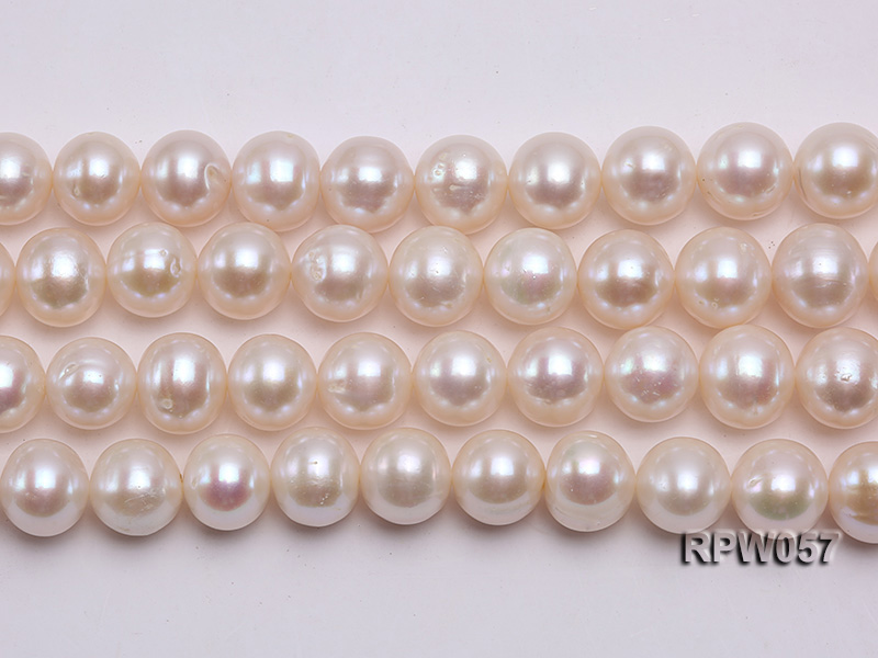 Wholesale 11-12mm White Freshwater Pearl Loose String big Image 2