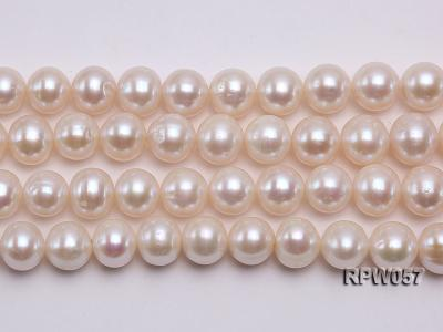 Wholesale 11-12mm White Freshwater Pearl Loose String RPW057 Image 2