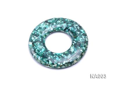70mm Round Synthetic Resin Pieces Jewelry Accessories  NA003 Image 1