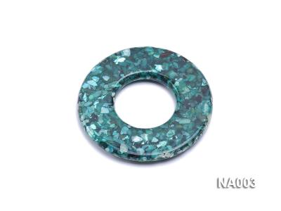 70mm Round Synthetic Resin Pieces Jewelry Accessories  NA003 Image 2