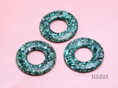 70mm Round Synthetic Resin Pieces Jewelry Accessories  NA003 Image 3