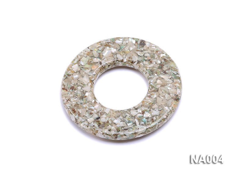 70mm Round Synthetic Resin Pieces Jewelry Accessories  big Image 2