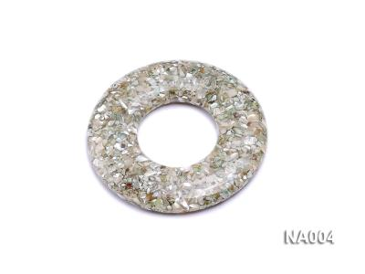 70mm Round Synthetic Resin Pieces Jewelry Accessories  NA004 Image 1