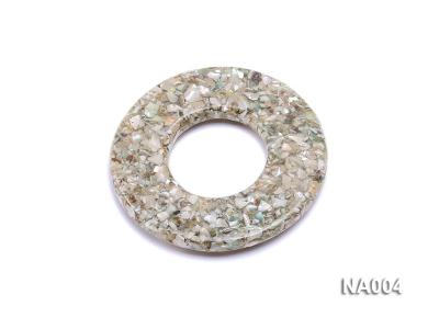 70mm Round Synthetic Resin Pieces Jewelry Accessories  NA004 Image 2