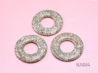 70mm Round Synthetic Resin Pieces Jewelry Accessories  NA004 Image 3