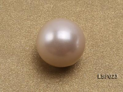 Wholesale 10-11mm White Round Seashell Pearl Bead  LSP023 Image 3