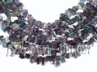 wholesale 6x12mm irregularly shaped fluorite semi-finished products GFL027