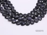 wholesale 18mm heart-shaped Blue Sandstone strings GBS011