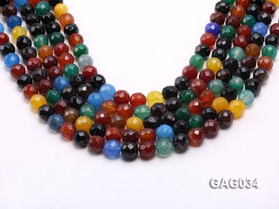 wholesale 10mm round agate strings GAG034 Image 1
