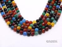 wholesale 10mm round agate strings GAG034