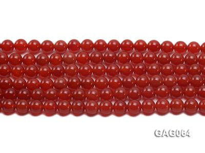 wholesale 8mm round red agate strings GAG064 Image 2