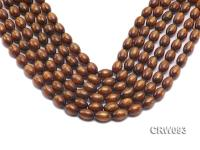 Wholesale 10x14mm Oval Golden Coral Beads Loose String CRW093