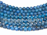 wholesale 12mm nature blue round quality lapis-lazuli strings  GLP011