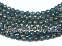 wholesale 12mm nature blue round quality lapis-lazuli strings  GLP012