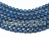 wholesale 12mm nature blue round quality lapis-lazuli strings  GLP013