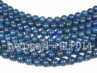 wholesale 12mm nature blue round quality lapis-lazuli strings  GLP014