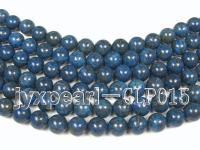 wholesale 14mm nature blue round quality lapis-lazuli strings  GLP015