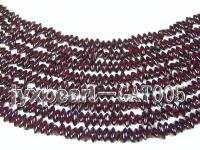 wholesale 3.5x9.5mm dark red garnet chip strings GAT005