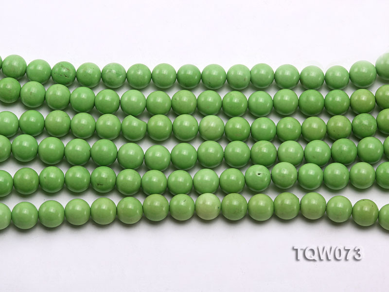 Wholesale 8mm Round Green Turquoise Beads String big Image 2