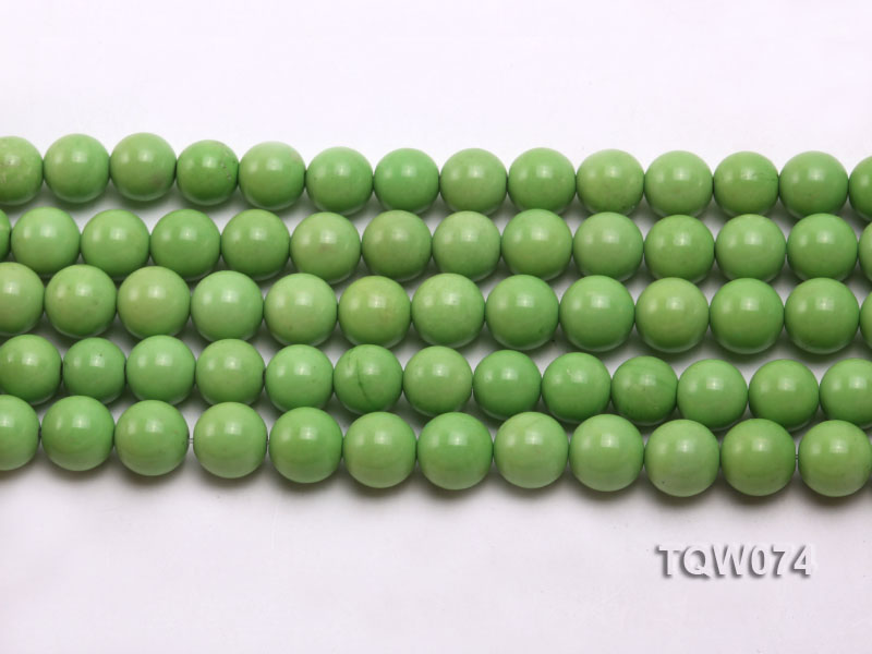 Wholesale 10mm Round Green Turquoise Beads String big Image 2