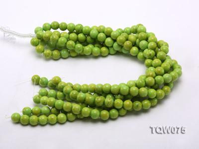 Wholesale 12mm Round Green Turquoise Beads String TQW075 Image 3