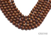 Wholesale 11mm Round Golden Coral Beads Loose String CRW110
