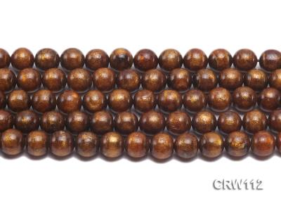 Wholesale 12mm Round Golden Coral Beads Loose String CRW112 Image 2