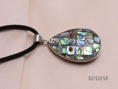 40x30mm Drop-shaped Abalone Shell Pendant SPD010 Image 2