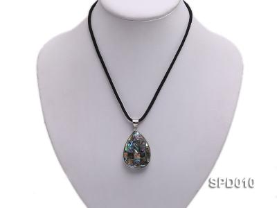 40x30mm Drop-shaped Abalone Shell Pendant SPD010 Image 5