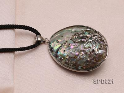 40x55mm Oval Abalone Shell Pendant SPD021 Image 4
