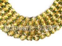 wholesale 14x14mm ratation-shaped crystal strings GOG077