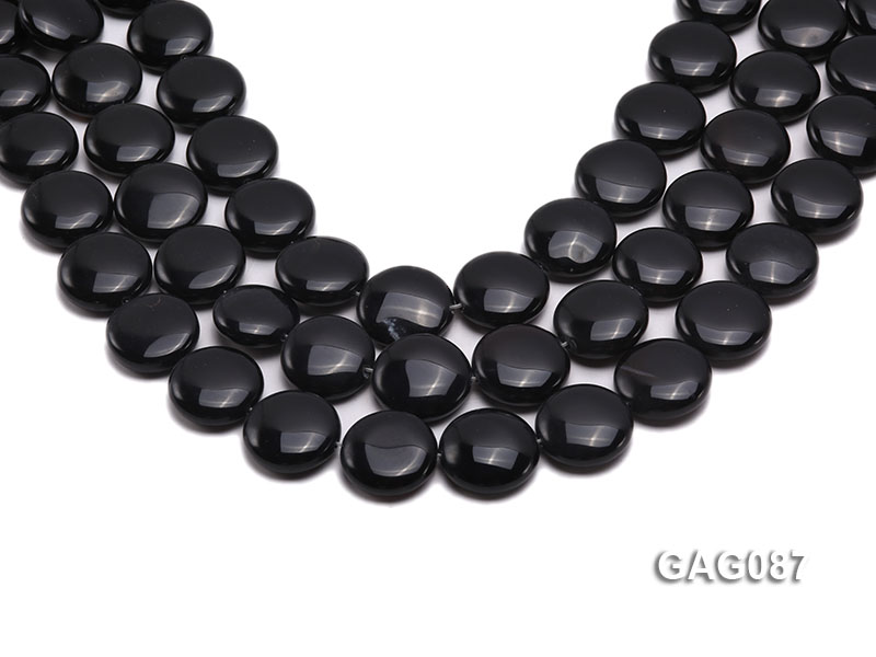 wholesale 19mm round agate pieces strings big Image 1