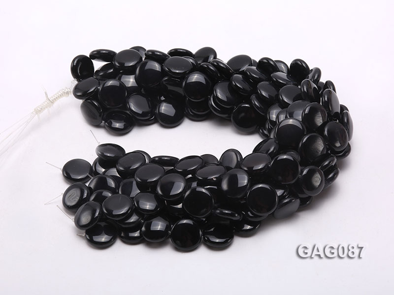 wholesale 19mm round agate pieces strings big Image 3