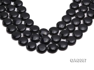 wholesale 19mm round agate pieces strings GAG087 Image 1