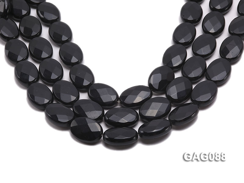 wholesale 25x18mm oval agate pieces strings big Image 1