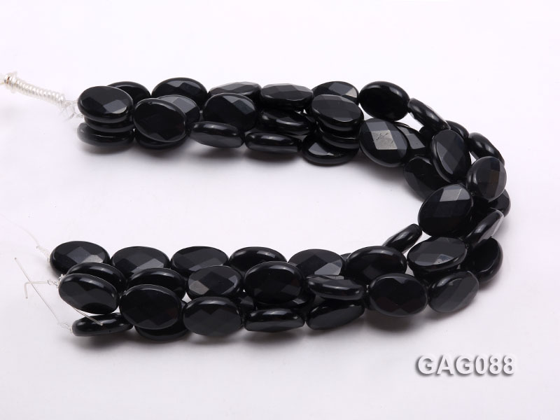 wholesale 25x18mm oval agate pieces strings big Image 3