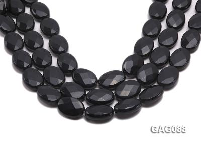 wholesale 25x18mm oval agate pieces strings GAG088 Image 1