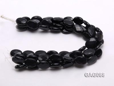 wholesale 25x18mm oval agate pieces strings GAG088 Image 3