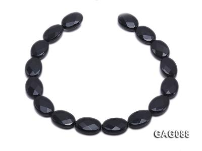 wholesale 25x18mm oval agate pieces strings GAG088 Image 4