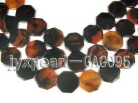 wholesale 30mm round agate pieces strings GAG095