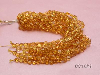 Wholesale 10mm Heart-shaped Citrine Beads String CCT021 Image 3