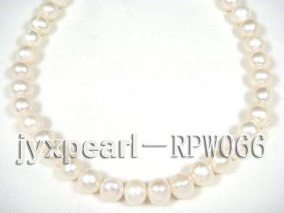 wholesale 6-8mm  cream round pearl strings RPW066 Image 1