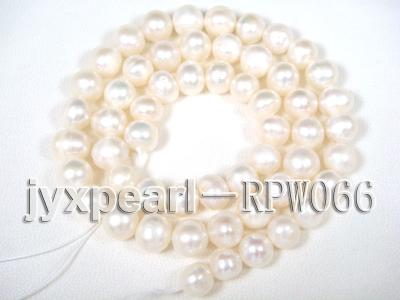 wholesale 6-8mm  cream round pearl strings RPW066 Image 2