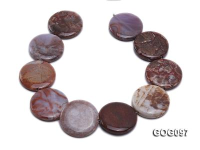Wholesale 35mm Disc-shaped Gemstone String GOG097 Image 4