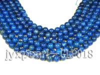 wholesale 12mm nature blue round AAA quality lapis-lazuli strings  GLP018