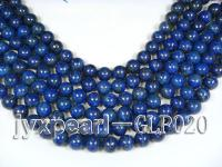 wholesale 14.3mm nature blue round AAA quality lapis-lazuli strings  GLP020