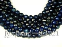 wholesale 14.5mm nature blue round AAA quality lapis-lazuli strings  GLP021
