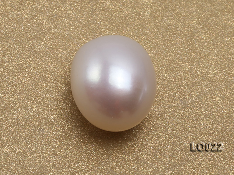 Wholesale 10x15mm Classic White Drop-shaped Loose Freshwater Pearls big Image 3